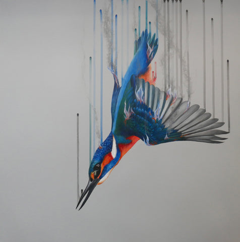 'Fire & Water'  Limited Edition By Louise McNaught