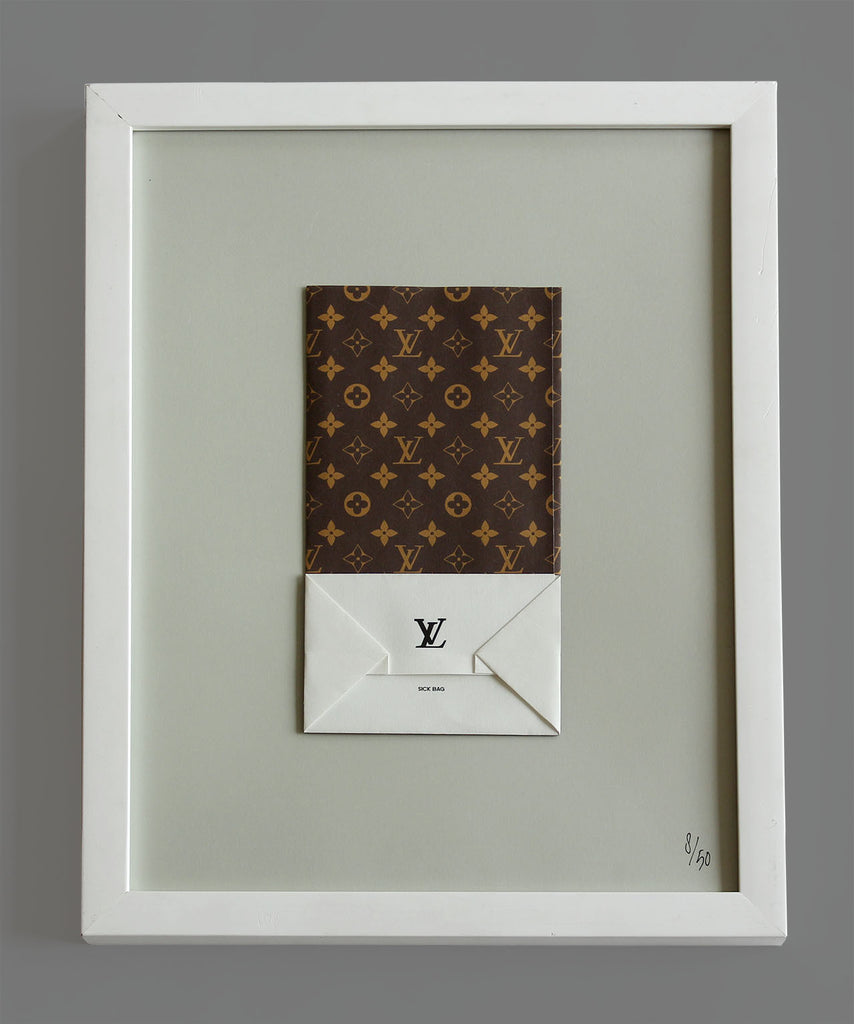 """Louis Vuitton Sick Bag"" ROBERTO VOORBIJ"