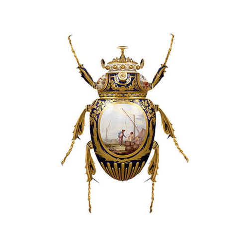 'SÈVRES GOLIATHUS SCARABAEIDAE'  LIMITED EDTION BY MAGNUS GJOEN