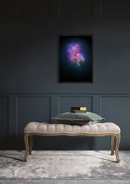 GALAXY EXPLOSION (DIAMOND DUST - PURPLE) Limited Edition By Lauren Baker