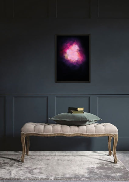 GALAXY EXPLOSION (DIAMOND DUST - PINK) Limited Edition By Lauren Baker