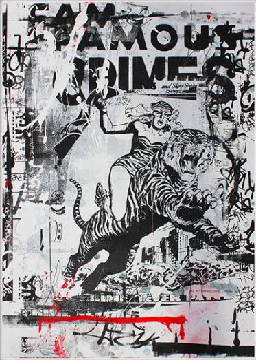 CRIMES - ORIGINAL WORK BY STEVE SMYTHE