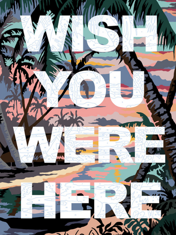 """Wish You Were Here"" Limited Edition By Benjamin Thomas Taylor"