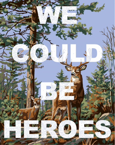 """We Could Be Heroes"" Limited Edition By Benjamin Thomas Taylor"