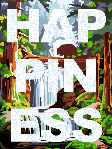 """Happiness"" Limited Edition Print By Benjamin Thomas Taylor"