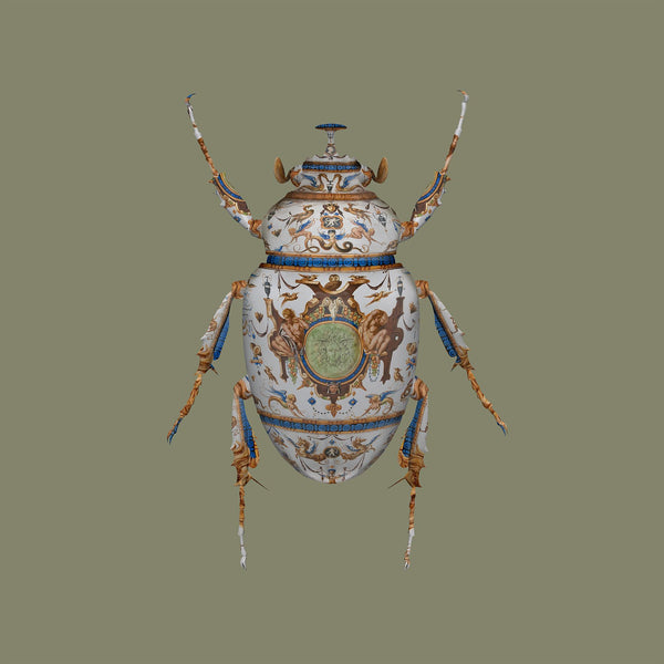 """THE MINTON SCARAB"" Limited Edition By Magnus Gjoen"