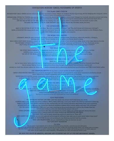 """Are We So Blinded That We Cannot See"" (The Game) Limited Edition By Rebecca Mason"
