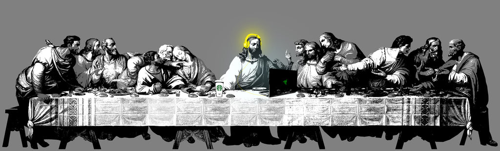 """The Last Supper""  Limited Edition by De Vil"