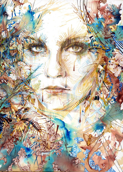 """THE MORTAL COIL"" CARNE GRIFFITHS"