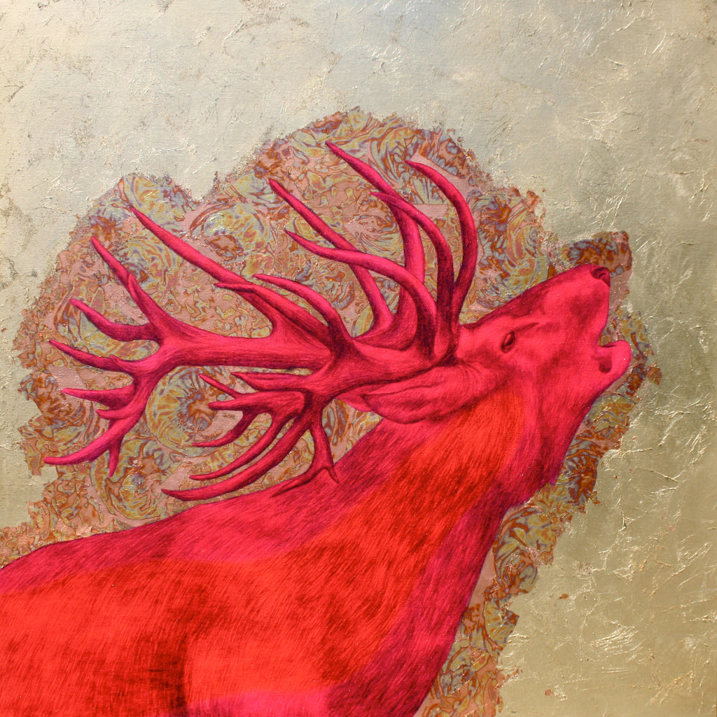 'The Wild is Calling', Original work by Louise McNaught