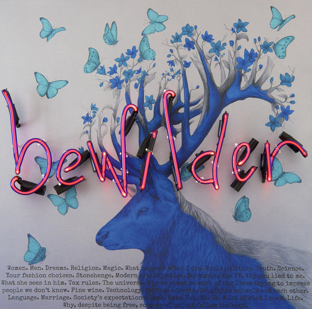 """Bewilder"" Print by Louise McNaught & Rebecca Mason"