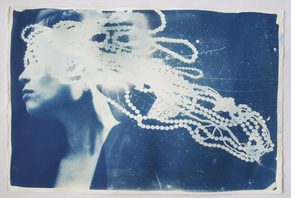 """Blind Desire"" Cyanotype By Rosie Emerson"
