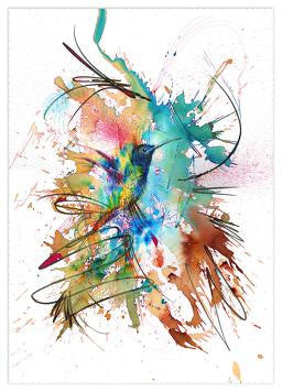 """Perfectly Still"" Carne Griffiths"