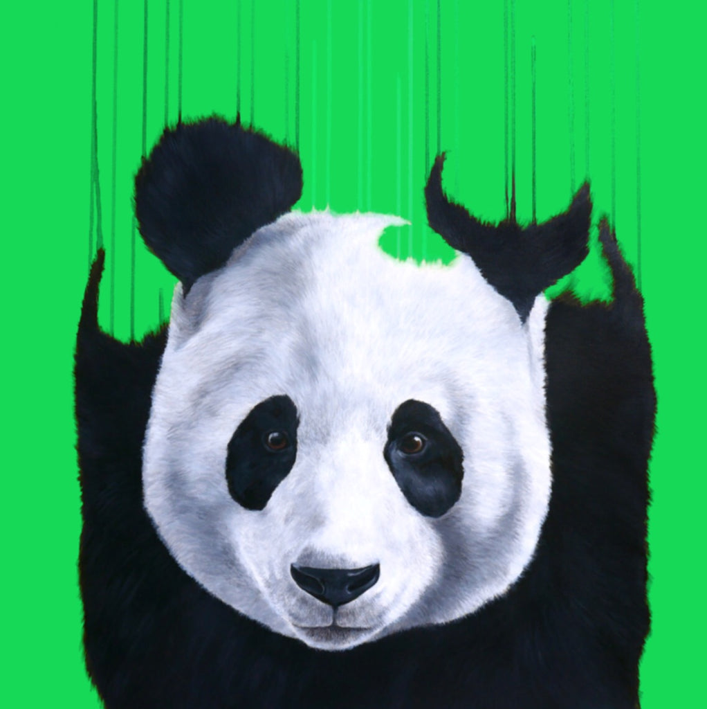 """Pandaemonium - #Green"" Limited Edition By Louise McNaught"