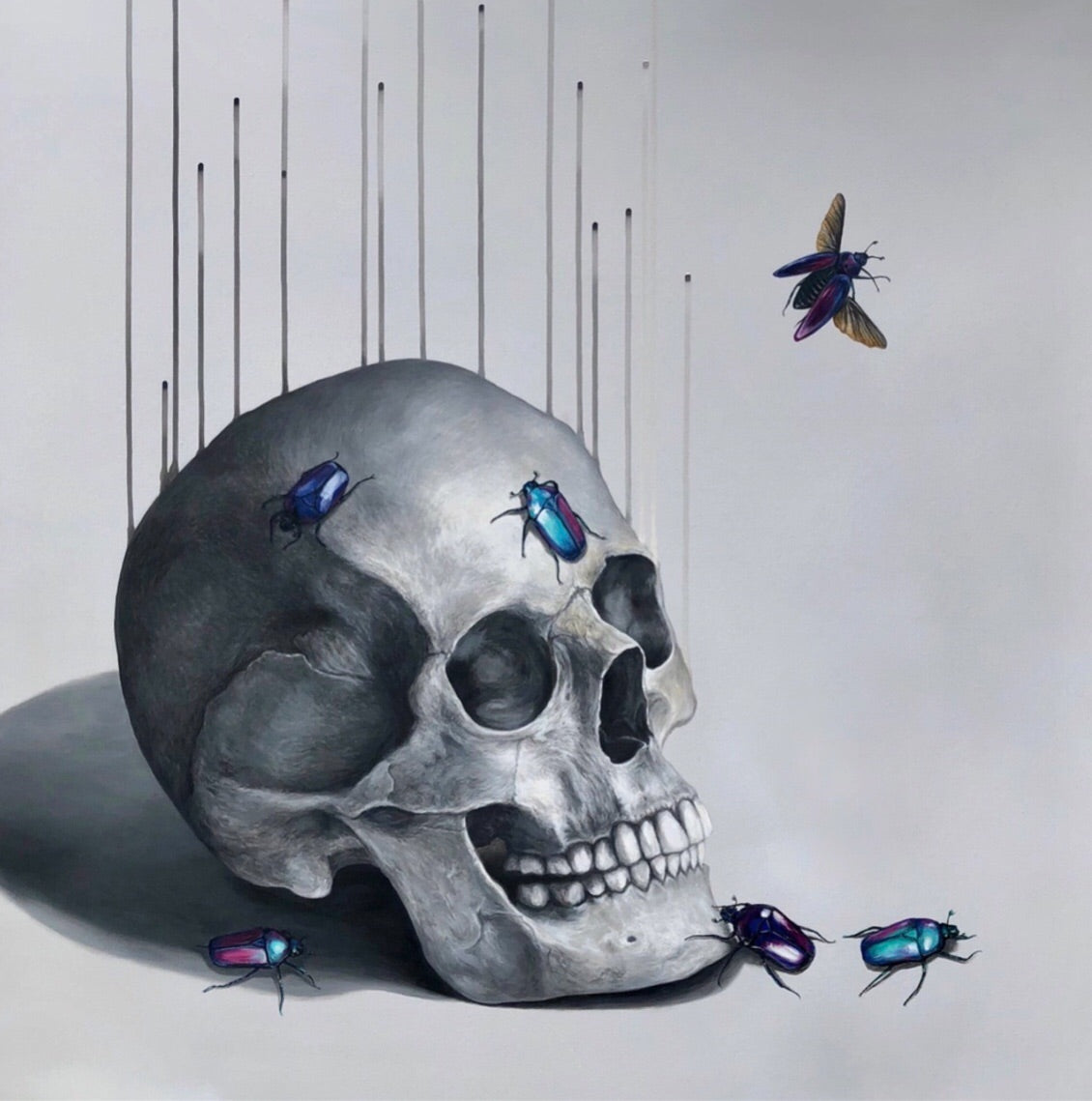 """Third  Eye Blind'  Limited Edition By Louise McNaught"