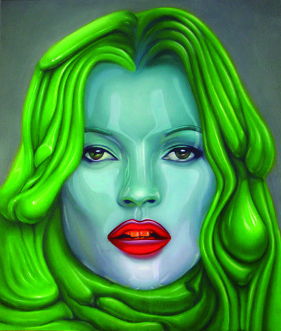 """Green Kate"" by Juan Barletta"