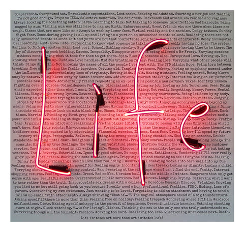 """IT'S COMPLICATED"" REBECCA MASON ORIGINAL NEON WORK"
