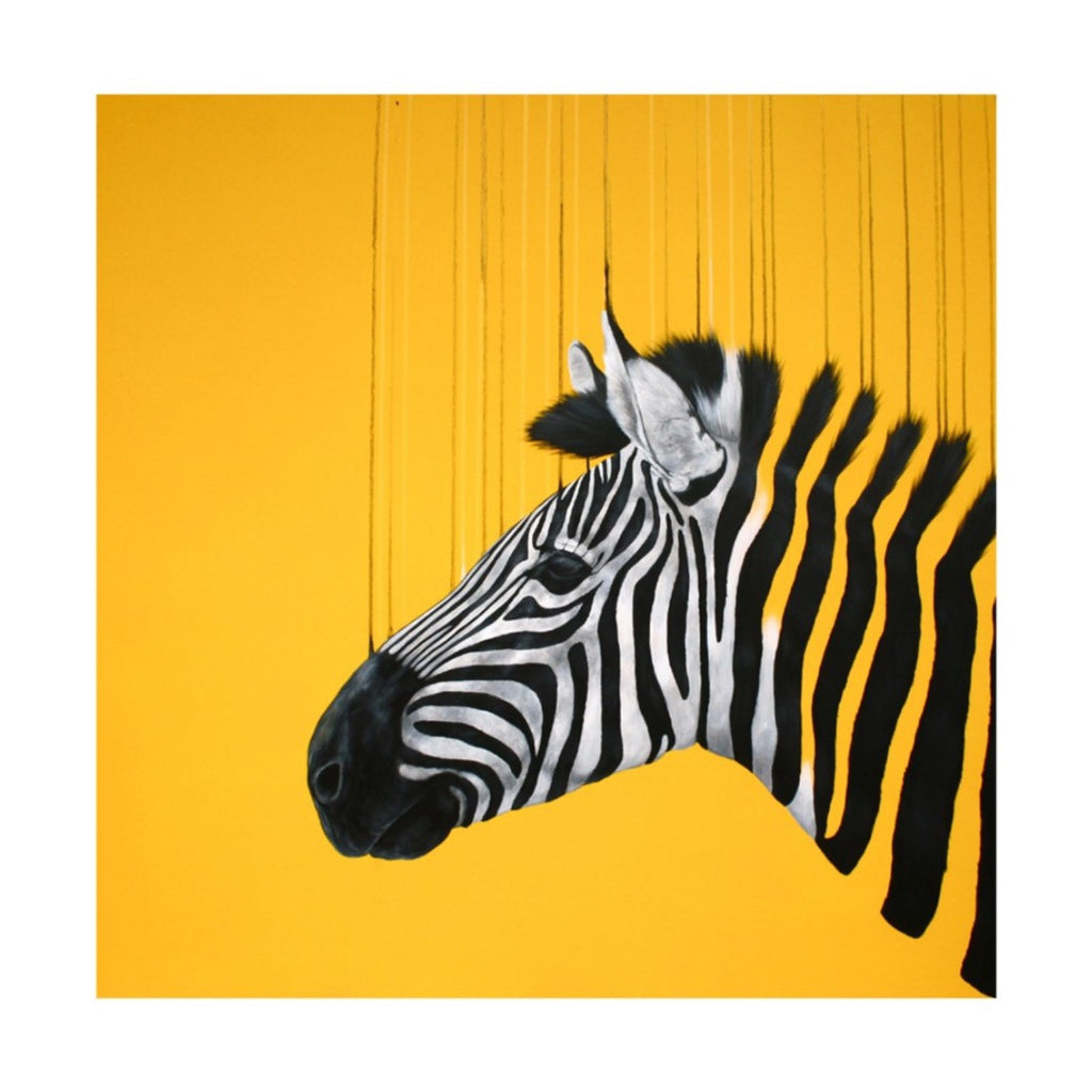 FRAGMENTED FREEDOM - YELLOW BY LOUISE MCNAUGHT