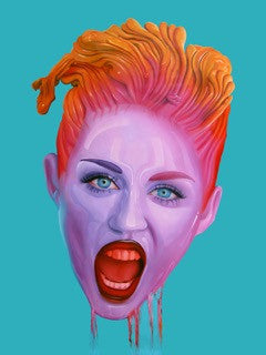 """Miley"" by Juan Barletta."