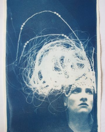 """Momentary Montage"" Cyanotype by Rosie Emerson"