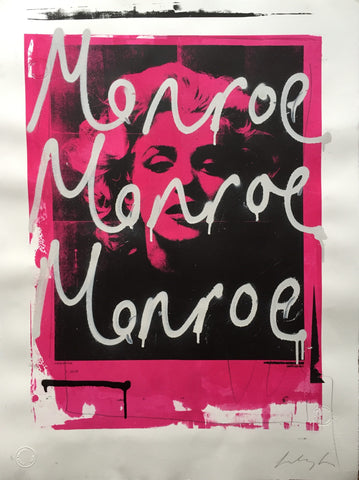 MONROE (007) ORIGINAL WORK BY STEVE SMYTHE
