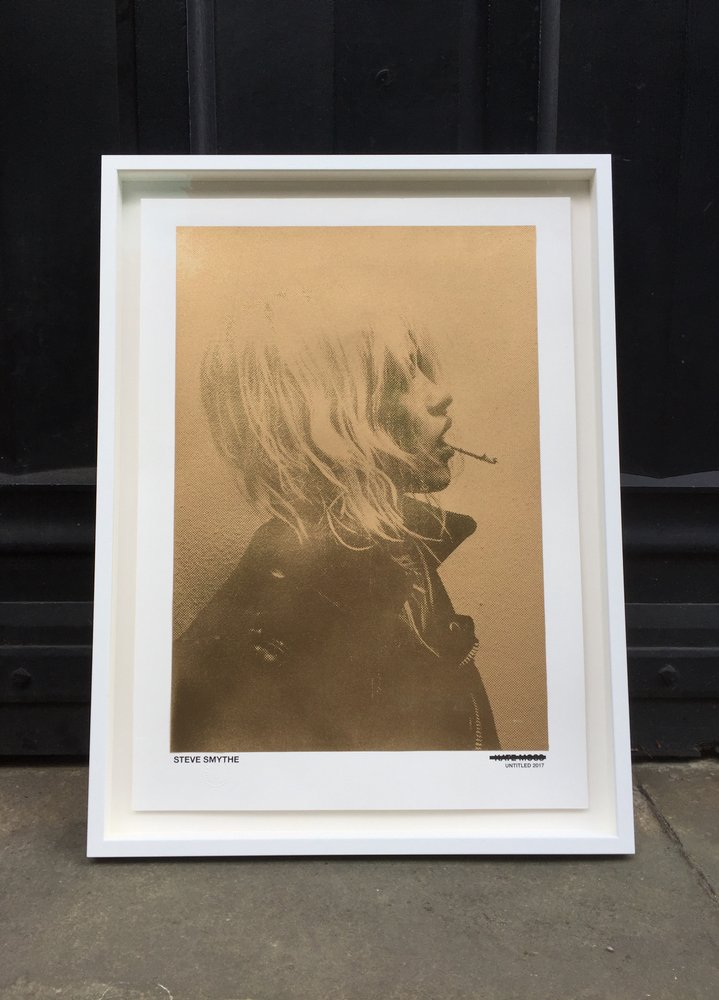 UNTITLED KATE MOSS (GOLD) BY STEVE SMYTHE