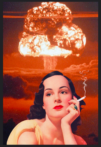 """NICOTINE NUKE"" Limited Edition Print By Steven Quinn"