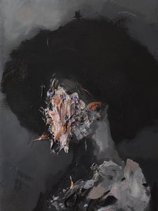 """Woman In Hat"" Original Painting by Jean-Luc Almond"