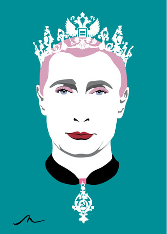 """Tsarina Putin"" Limited Edition By Michelle Mildenhall"