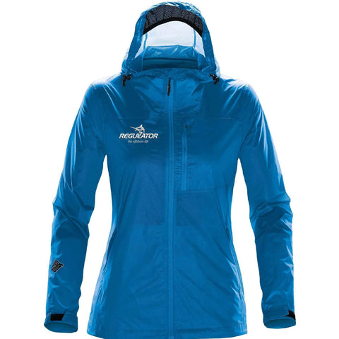 *LIMITED AVAILABILITY* Women's Stormtech Rain Jacket - Electric Blue