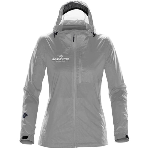 *LIMITED AVAILABILITY* Women's Stormtech Rain Jacket - Titanium
