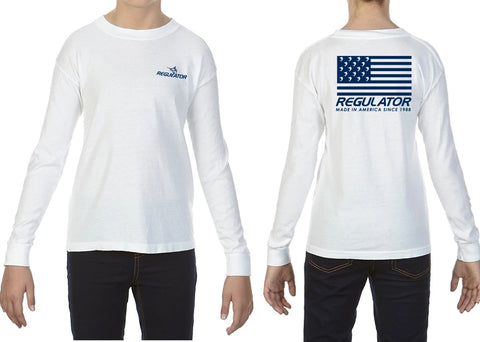 Youth Comfort Colors LS Shirt- White