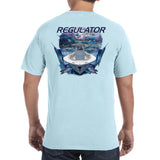 Comfort Colors Graphic T Shirt - Chambray