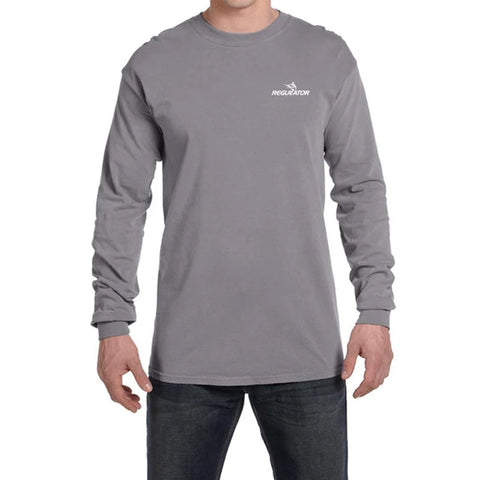 Comfort Colors LS Tshirt- Granite