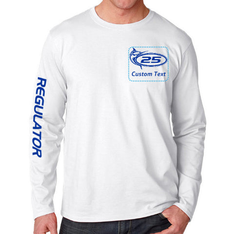 Personalize Your Model 25 Long Sleeve Regulator Tee