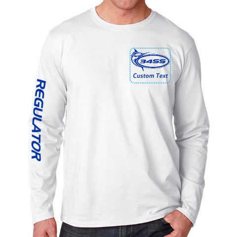 Personalize Your Model 34SS Long Sleeve Regulator Tee