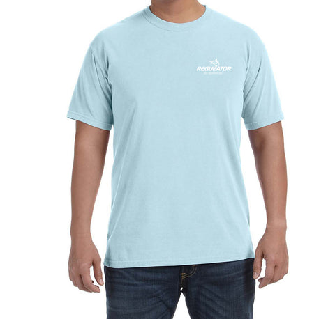 Comfort Colors SS Tshirt- Chambray