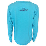 Oceantec Men's L/S All Day Sun Shirt- Heather Ocean