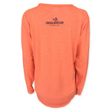 Oceantec Men's L/S All Day Sun Shirt- Heather Coral