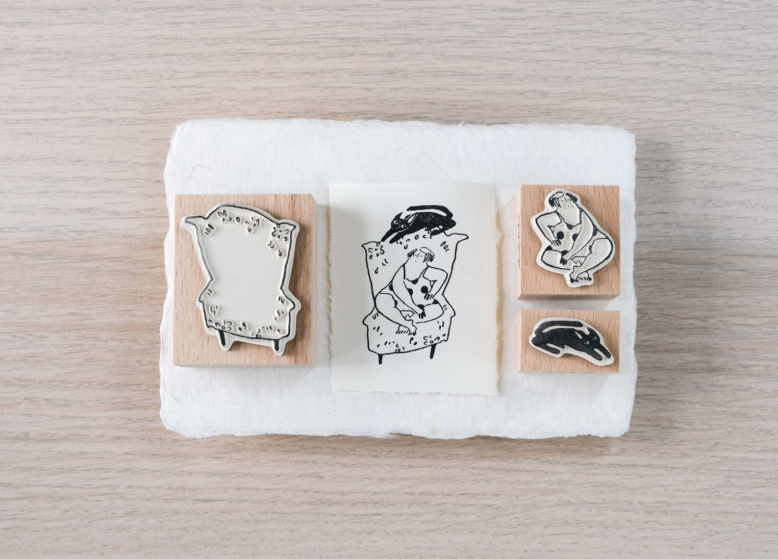 Couch Potato - Stamp Set