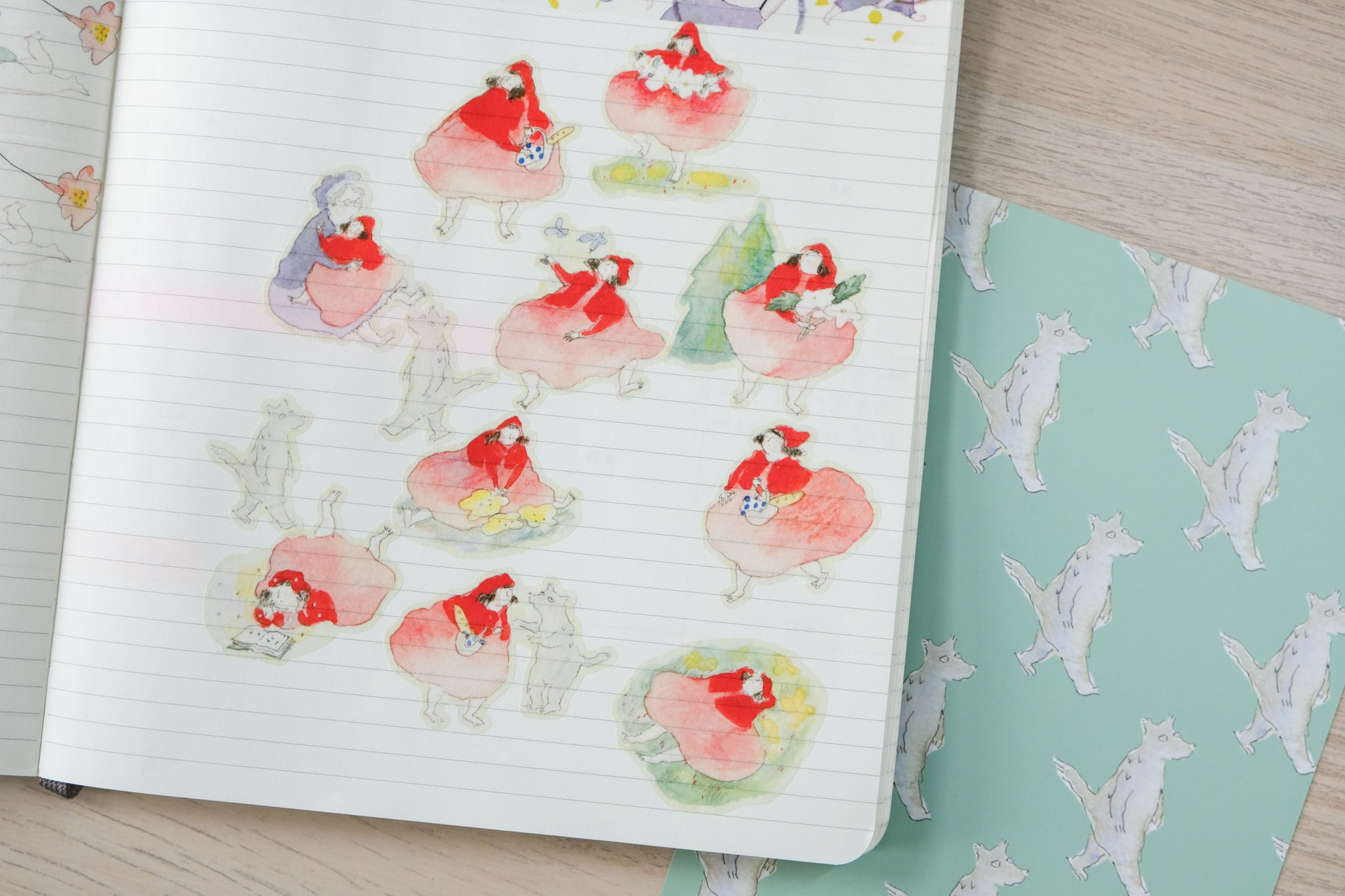 Little Red Riding Hood - Sticker Sheet
