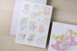 Alice in Wonderland - Sticker Sheet