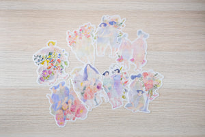 Secret Garden - Sticker Flakes