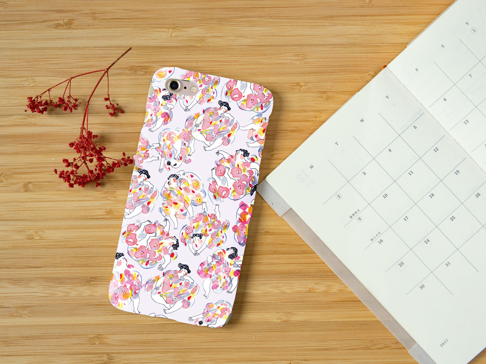 Floral Girls - iPhone Slim Case