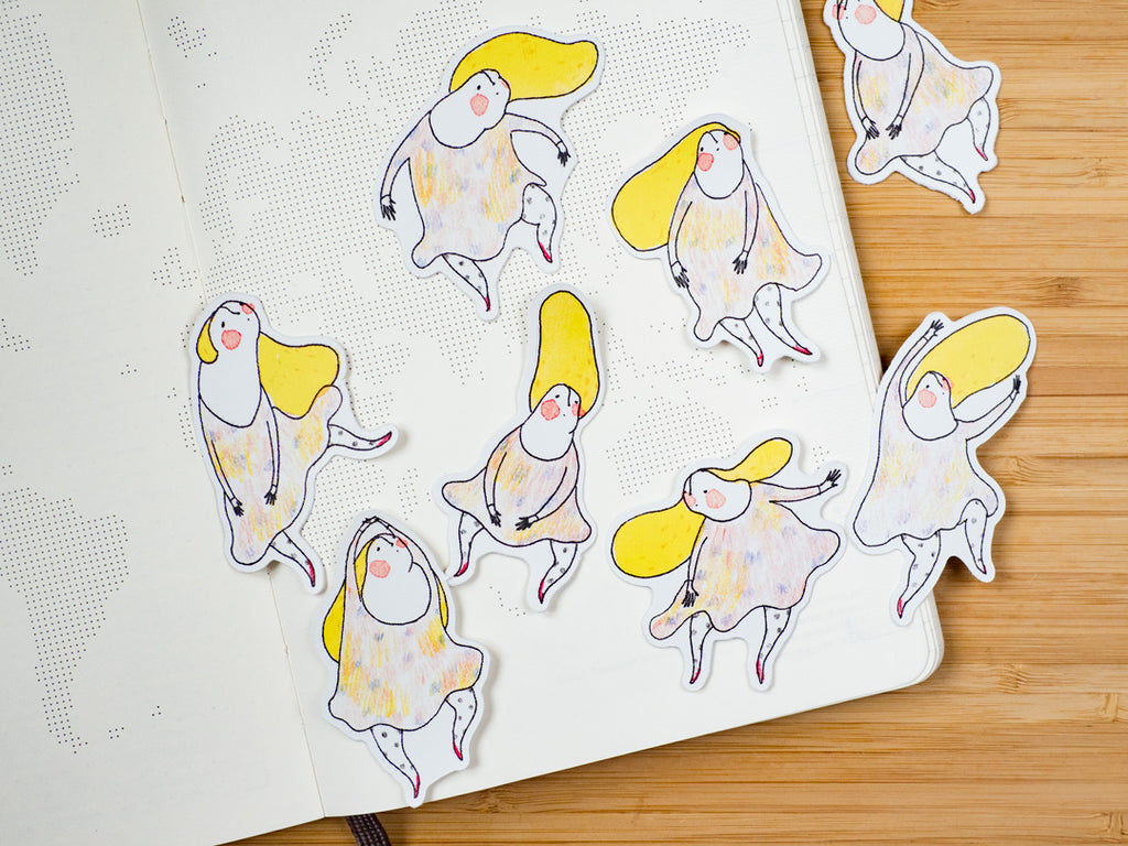 The Little Dancers - Sticker Set