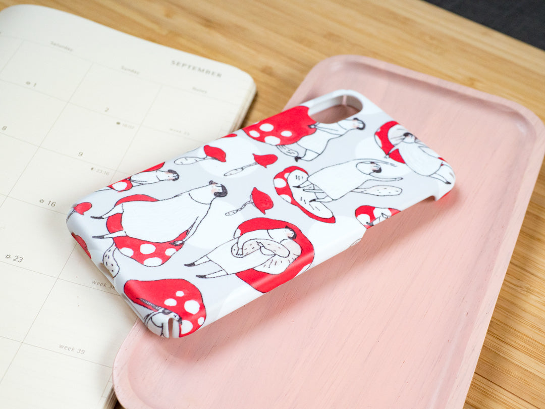 The Red Mushroom - iPhone Slim Case