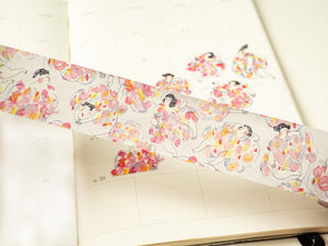 The Floral Dress - Washi Tape