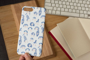 Girls with Blue Hair - iPhone Slim Case
