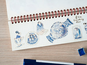 Something Blue - Sticker Sheet