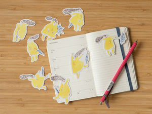 The Yellow Raincoat - Sticker Set